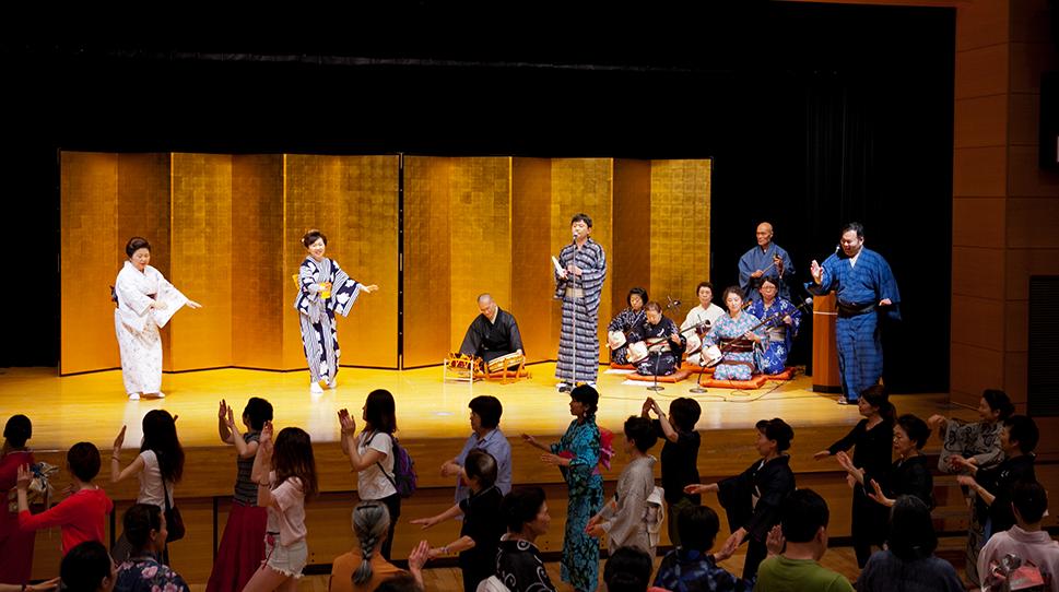 盆踊り指導:東京五輪音頭をみんなで踊ろう!